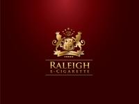 Raleigh E-Cigarette Logo and Brand Identity Design
