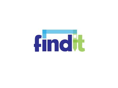 Findit branding typogaphy logo