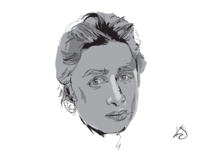 Zach Braff Illustration