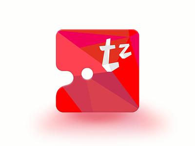 Tz.Palette app icon low poly