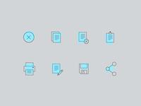 Color Block Icon