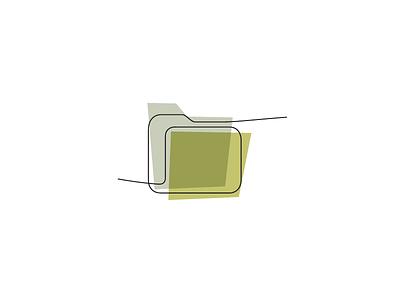 Color Block Folder icon folder directory ui icon app web loose
