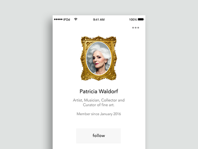 WIP - Patricia's Profile Page art iphone 7 tags profile