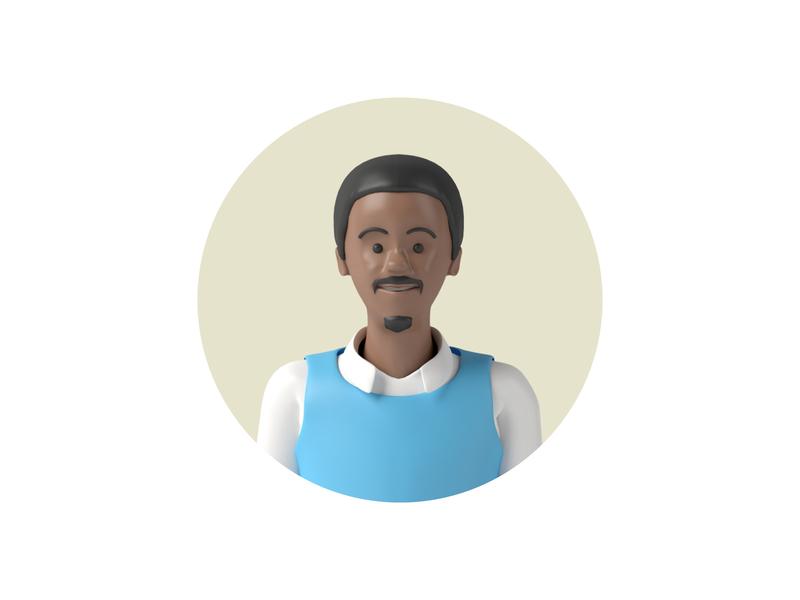 David avatar 3dcharacter