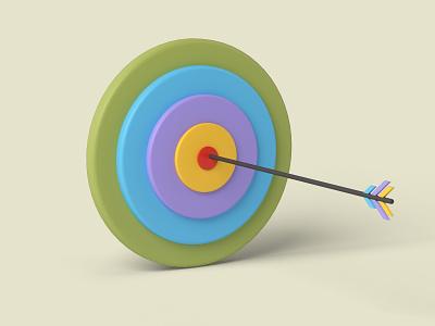 target dataviz arrow target