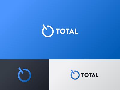 Total total full circle 365 blue monogram