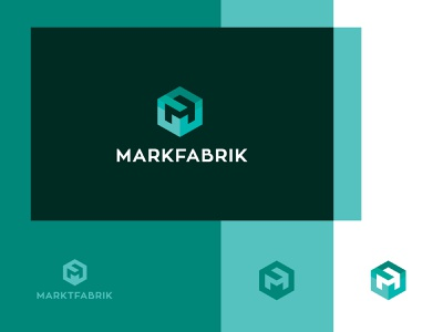 markfabrik turquoise mf cube monogram