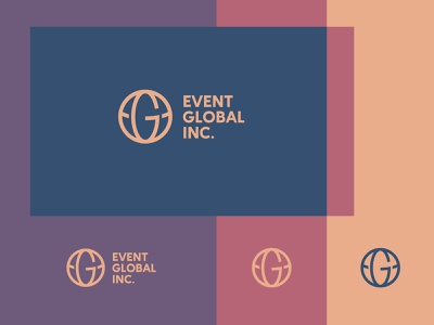 EVENT GLOBAL globe monogram