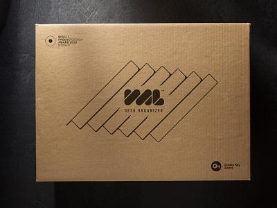 VAL packaging cardboard lineart packaging box