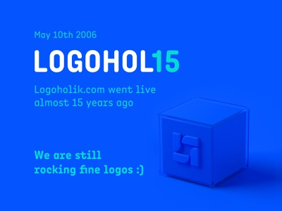 logohol15 logoholik annyversary