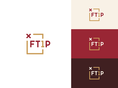 FT1P logo design web design brand manual brandidentity wordpress