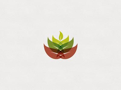 Bonn Challenge Logo Design tree transparency green phoenix rise icon logo