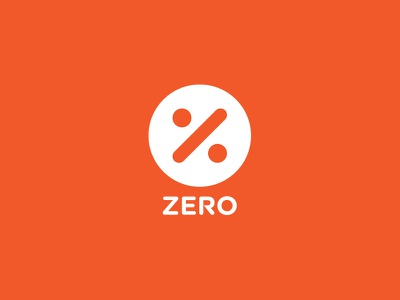 Zero letter z monogram