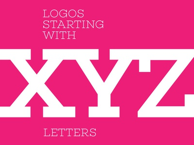 Logos starting with XYZ letters