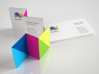 NemAi (EasyAI) folded business card