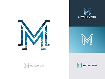 Metallverk metalwork acronym monogram