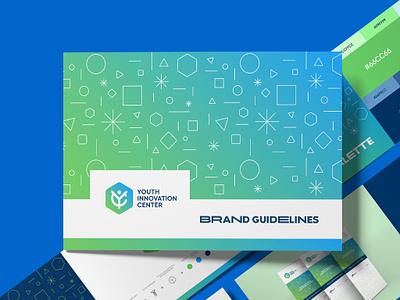 Youth Innovation Center (YIC) acronym monogram brand guidelines brand manual brandbook