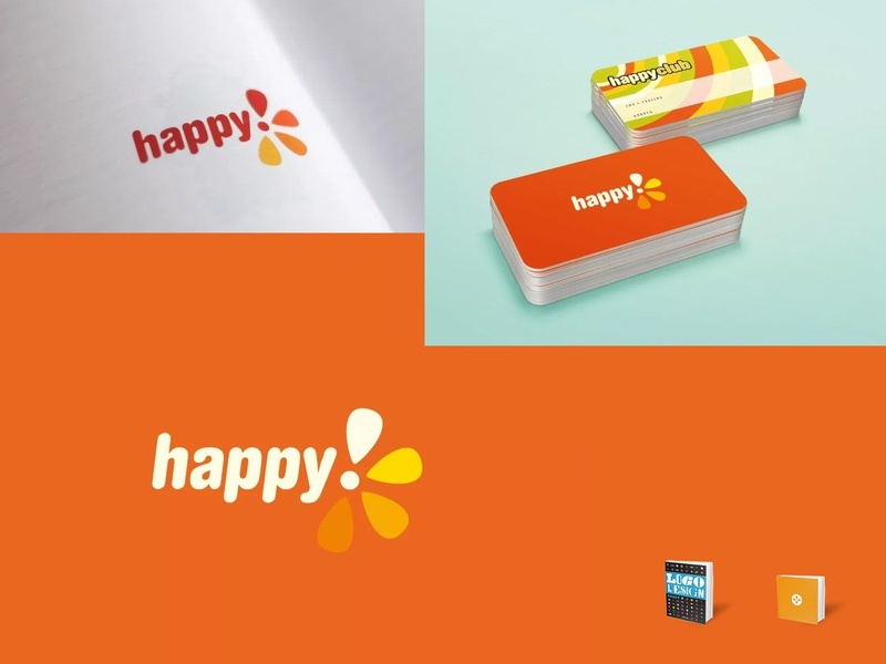 HappyTV exclamation mark flower orange