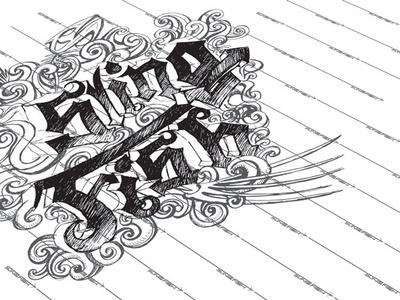 Sketch graffiti digital graffiti art graffiti coastal vector logo design branding offshore illustration freediving fishes fisherman diving fish spearfishing fishing slingfish