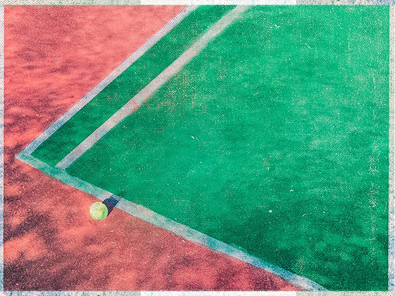 Tuesday RGB sport ball texture illustration digital court tennis
