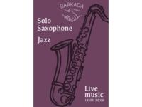 Saxophone and jazz