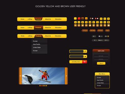 Golden Ui ( Free Download )
