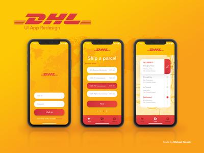 DHL - UI App Redesign