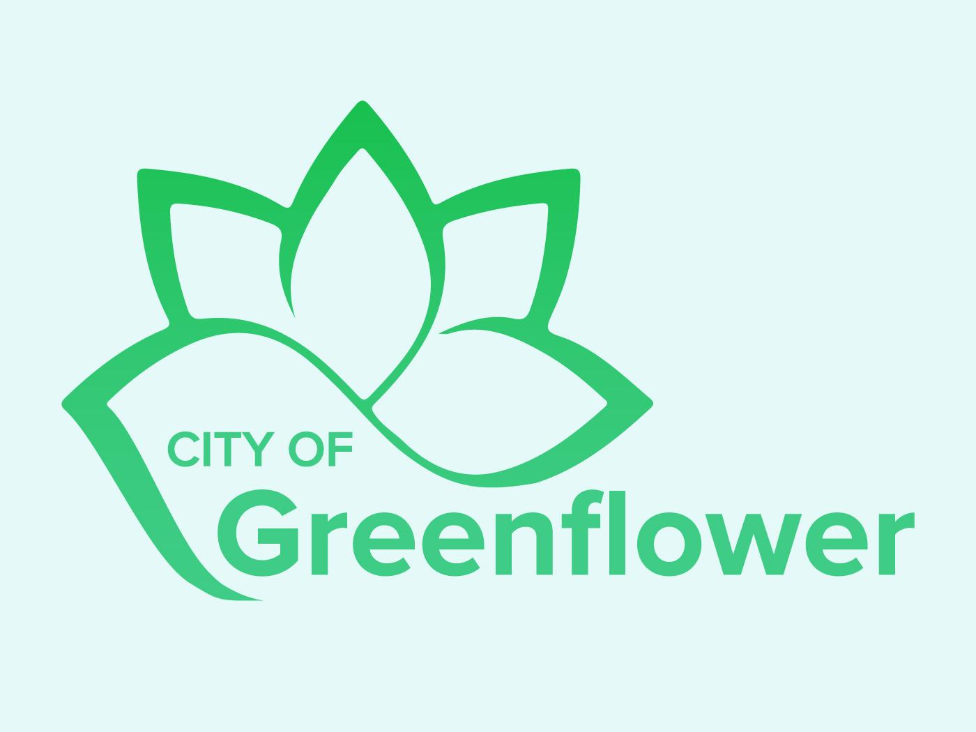 Daily Logo Challenge: Day 22 greenflower city graphic design design identity branding logo dailylogo dailylogochallenge
