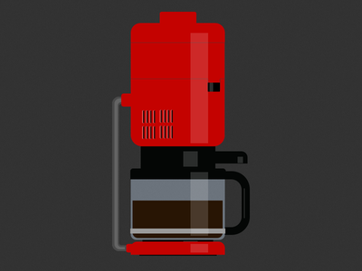 Coffee & Dieter coffee dieter design wallpaper illustration coffee maker