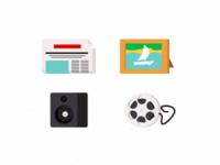 A few icons