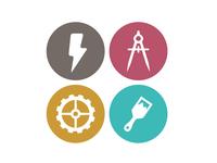 IDEA School Icons