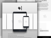 MockUp Website - UX