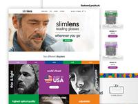 Slimlens E-commerce