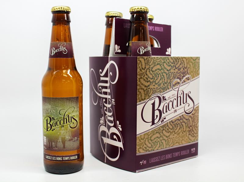 Bacchus Beer Packaging branding packaging beer