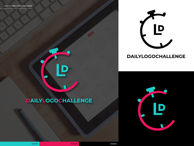 "Day 11: ""Daily Logo Challenge"" Logo type minimal icon logo typography logodesign logodlc dailylogochallenge"