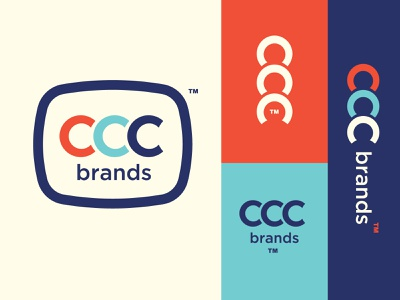 CCC brands Logo logomark badge design logo branding adobe vector design adobe illustrator industrial logo