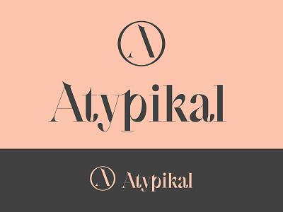 Atypikal Logo modern design logo branding adobe vector design adobe illustrator modern logo
