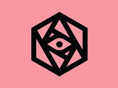 Eyeball Logomark branding adobe illustrator vector logomark logo eyeball