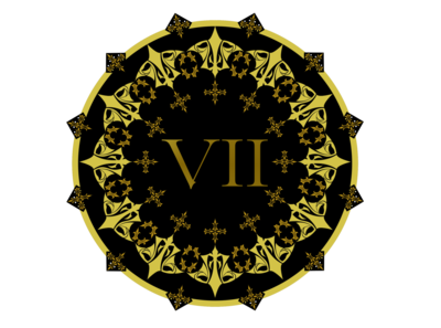 VII roman numeral logo for VII