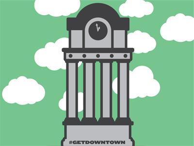 Clocktower vector illustrator clock clocktower