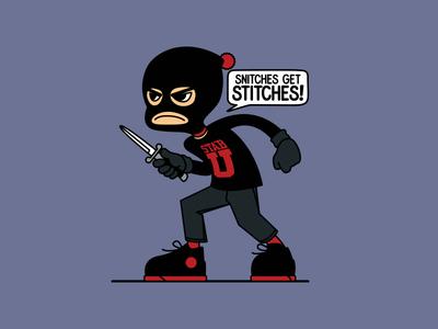 Snitches Get Stiches