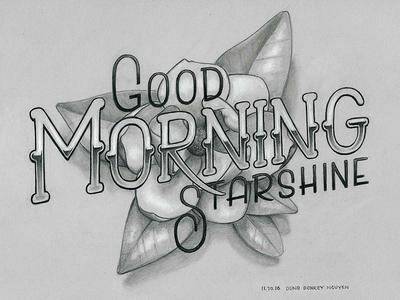 Good Morning, Starshine