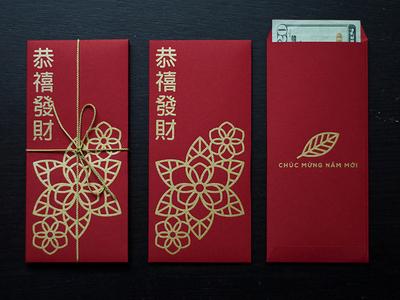 Lì Xì (Red Envelopes for Lunar New Year)