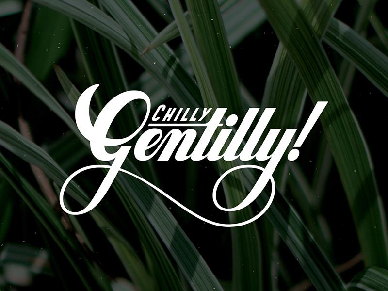 Gentilly vector lettering
