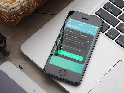 Mobile Service App - Freelancer Project mobile service card design ui freelancer app ios