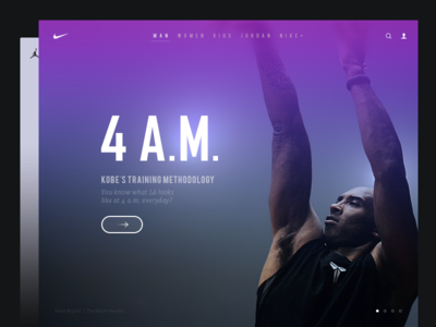 NIKE Website Redesign
