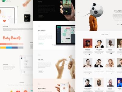 Rockwagon Webs layout web