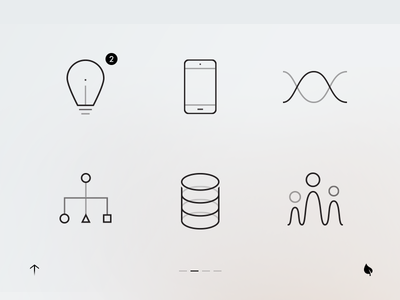 GUI for some secret machine simple lines web icon gui ui