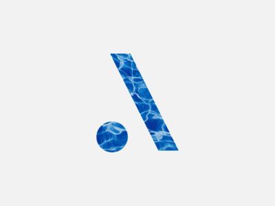 AQKLEEN Branding blue water branding logo