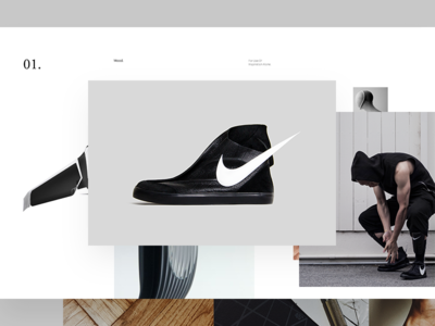I Freaking Made A Pair Of Shoes! fashion model shoes swoosh layout web sneaker